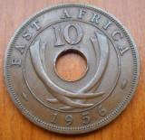 AFRICA DE EST 10 CENTS 1956 KM 38, Bronz