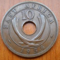AFRICA DE EST 10 CENTS 1956 KM 38, An: 1951, Bronz