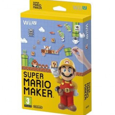 Super Mario Maker With Artbook Nintendo Wii U - Jocuri WII U