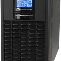 Sursa neintreruptibila on-line pur sinus 3000VA/2400W, iesire 6xIEC, baterie 6x12V/9Ah Powerwalker