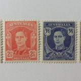 Timbre Australia 1942-44, Nestampilat