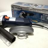 Polizor Unghiular/Flex-STRAUS Austria -125mm-950W-Turatie Variabila