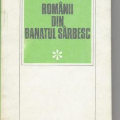 Romanii din Banatul Sarbesc Gligor Popi Bucuresti 1993 brosata Ir8 - Carte Istorie