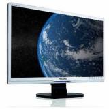 Monitor EURO 200, 22 inch LCD, Philips 220SW, Silver & Black, 3 Ani Garantie - Monitor LCD