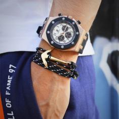Bratara barbati Nautica-Model Ancora -2017 - Bratara Fashion