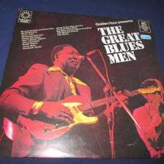Various - Golden Hour Presents The Great Blues Men _ vinyl, LP _Golden Hour(UK) - Muzica Blues Altele, VINIL