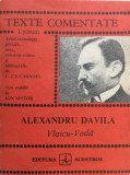 VLAICU-VODA - Alexandru Davila (Texte comentate)