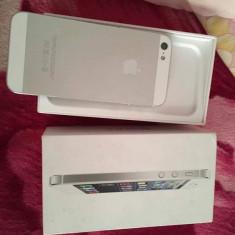 iPhone 5 Apple, Alb, 16GB, Neblocat