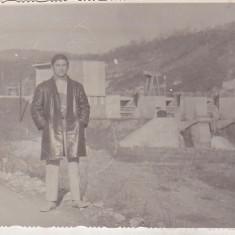 Bnk foto - Baraj pe Valea Doftanei - anii `70 - Fotografie, Alb-Negru, Cladiri, Romania de la 1950