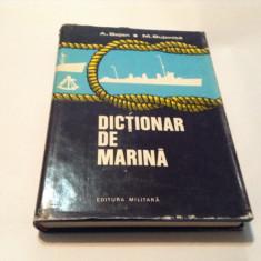 A. Bejan / M. Bujenita - Dictionar de marina ( ilustrat ), M8 - Dictionar ilustrat