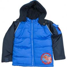 Jacheta albastra cu gluga, baieti, Spiderman