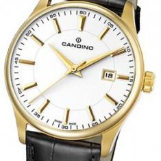 Ceas original CANDINO Classic, Swiss made, geam safir cristal, nou, sigilat ! - Ceas barbatesc Candino, Quartz