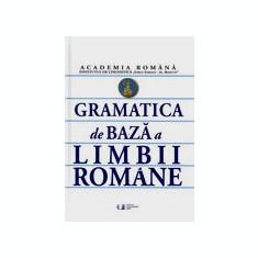 Gramatica de bază a limbii romane - Academia Romana - Culegere Romana