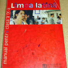 Limba Latina - manual clasa a IX a - Parvu / Duna Altele