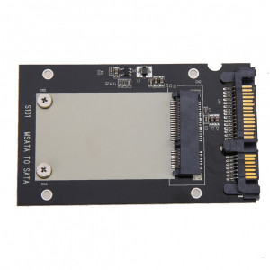 Adaptor SSD mSATA la SATA 3 2.5 pentru ssd-uri mSATA de 50mm mini PCI-E