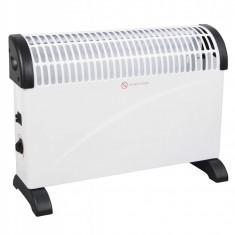 Convector electric de podea Intertek, 2000W, 3 trepte de putere, Termostat reglabil