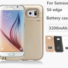 Baterie Suplimentara pentru Samsung Galaxy S6 edge 3200mAh - Husa Telefon