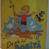 DE-ALE LUI BOBITA de ADRIAN NICULESCU, 1975 - Carte de povesti
