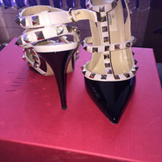 Pantofi Valentino Originali - Pantof dama, Cu toc