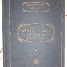 Sfantul Vasile cel Mare - Scrieri partea a doua Asceticele PSB 18 / 570pagini