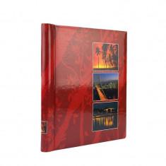 Album foto Procart Age Tropical Sunset capacitate 40-80 fotografii 23x28 cm Visiniu