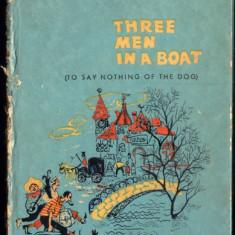 Three men in a boat - Jerome K. Jerome - Carte in engleza