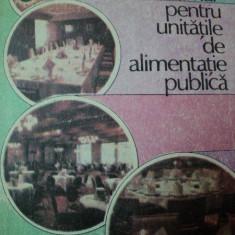 INDRUMAR PENTRU UNITATILE DE ALIMENTATIE PUBLICA de C.FLOREA, 1988