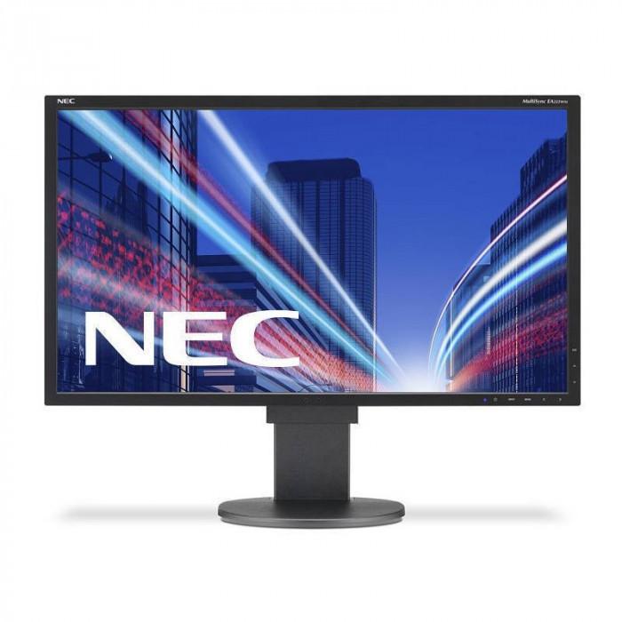 Monitor LED NEC MultiSync EA223WM 22 inch 5 ms Black foto mare