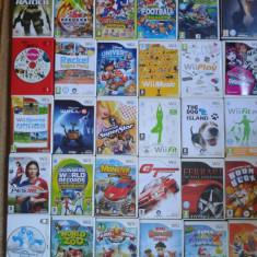 Pachet 30 jocuri WII nintendo, pt copii, mario, rally, wii sport, Toate varstele