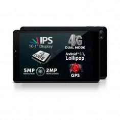 Tableta Allview Viva H1001 LTE 10.1 inch Cortex A53 1.0 GHz Quad Core 1GB RAM 8GB flash WiFi GPS 4G Android 5.1 Black