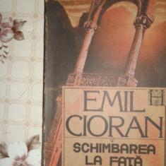 Schimbarea la fata a Romaniei 207pagini- Cioran - Carte Filosofie