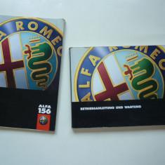 Lot manual carte auto Service si Betriebsanleitung und wartung Alfa Romeo 156 ! - Manual auto, Carte tehnica
