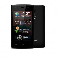 Smartphone Allview A5 Ready 8GB Dual Sim Black - Telefon Allview