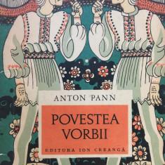 POVESTEA VORBII - Anton Pann (edit. Ion Creanga)