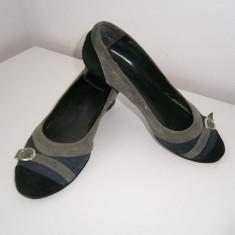 Pantofi dama Michelle, piele, marimea 39, stare buna! - Pantof dama, Culoare: Din imagine, Cu toc
