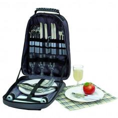 Rucsac picnic Coolness pentru 4 persoane - Vesela camping Alexer
