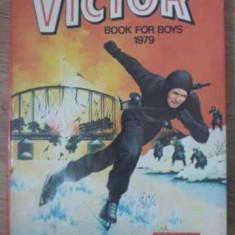 The Victor Book For Boys 1979 (benzi Desenate) - Necunoscut ,398020