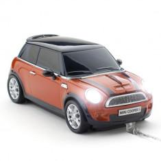 Mouse Mini Cooper S Spice Orange - USB
