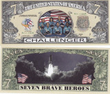 Cumpara ieftin SUA - BANCNOTA FANTASY - MISIUNEA STS-51-L CHALLENGER