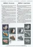 2010 - minerale, carton filatelic