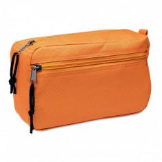 Borseta pentru cosmetice portocalie