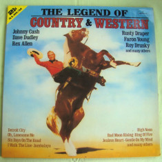 The Legend Of COUNTRY And WESTERN - Vinil 2 LP Original West Germany - Muzica Country