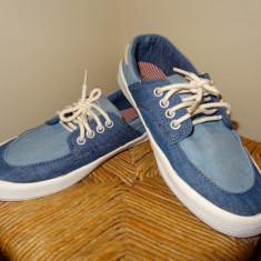 Pantofi ZARA baieti - Pantofi copii Zara, Culoare: Bleu, Marime: 36