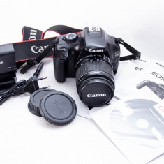 Canon 1100D EF-S 18-55 IS II - Aparat Foto Canon EOS 1100D