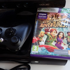 Consola Microsoft Xbox 360 Slim 4G + Kinect + Joc Original Madagascar Penguins