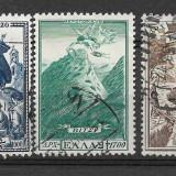 GRECIA 1952 serie deparaiata - Timbre straine, Stampilat
