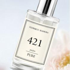 Parfum dama FM 421 Pure - Chypre, casual 50 ml - Parfum femeie Federico Mahora, 30 ml