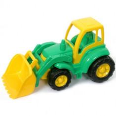Champion Tractor cu Cupa Verde - Masinuta Polesie