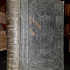 BIBLIA [ SANTA SCRIPTUR A VECHIULUI SI NOULUI TESTANMENT ], BUCURESCI 1908 - Carti Istoria bisericii