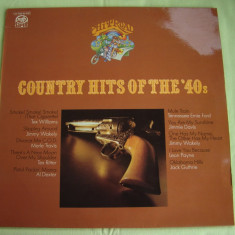 Country Hits Of The '40s - Vinil LP Original West Germany - Muzica Country